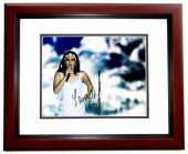 Lana Del Rey Signed - Autographed Sexy Singer - Songwriter 11x14 inch Photo MAHOGANY CUSTOM FRAME - Guaranteed to pass PSA or JSA