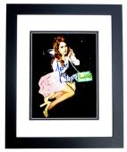 Lana Del Rey Signed - Autographed Sexy Singer - Songwriter 8x10 inch Photo BLACK CUSTOM FRAME - Guaranteed to pass PSA or JSA