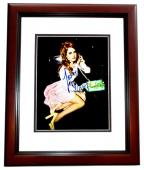 Lana Del Rey Signed - Autographed Sexy Singer - Songwriter 8x10 inch Photo MAHOGANY CUSTOM FRAME - Guaranteed to pass PSA or JSA
