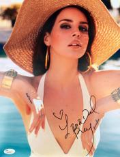 Lana Del Rey Signed SEXY Bathing Suit 11x14 Photo JSA