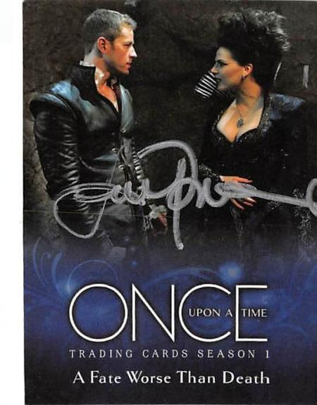 Lana Parilla autographed trading card Once Upon A Time Evil Queen Regina 2014 ABC #13
