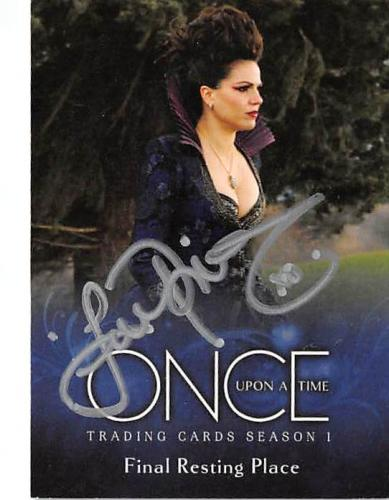 Lana Parilla autographed trading card Once Upon A Time Evil Queen Regina 2014 ABC #16