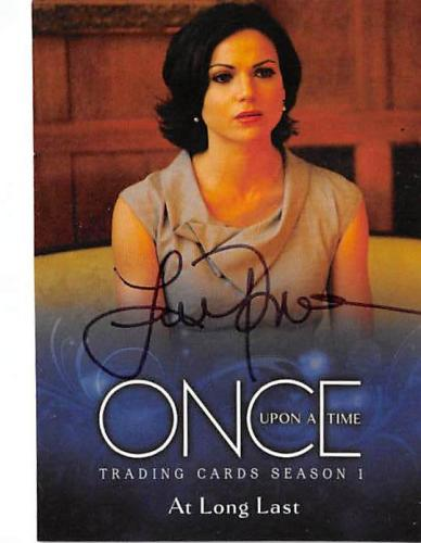 Lana Parilla autographed trading card Once Upon A Time Mayor Regina Mills 2014 ABC #29
