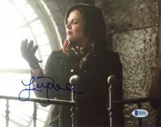 """Lana Parrilla Autographed 8"""" x 10"""" Once Upon a Time Photograph - Beckett COA"""