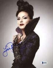 "Lana Parrilla Autographed 8"" x 10"" Once Upon A Time Photograph - Beckett COA"