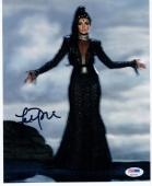 Lana Parrilla Once Upon a Time Evil Queen signed 8x10 photo PSA/DNA autograph