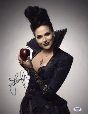 Lana Parrilla SIGNED 11x14 Photo Evil Queen Once Upon A Time PSA/DNA AUTOGRAPHED