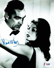 Lana Wood w/ Sean Connery Signed James Bond 007 Authentic 8x10 Photo PSA/DNA