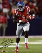 "Laquon Treadwell Ole Miss Rebels Autographed 8"" x 10"" Red Running Photograph"