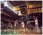 "Larry Bird Boston Celtics Autographed 8"" x 10"" Jumper Photograph"