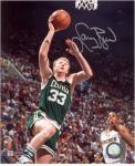 "Larry Bird Boston Celtics Autographed 8"" x 10"" vs. Indiana Pacers Photograph"