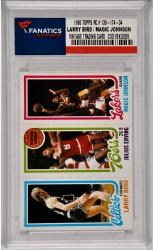 Larry Bird / Magic Johnson Boston Celtics - Los Angeles Lakers 1980 Topps Rookie #139-34 Card