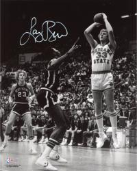 Larry Bird Indiana State Sycamores Autographed 8'' x 10'' Photograph - Mounted Memories