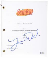 "Larry David Autographed Seinfeld ""Pilot Episode"" TV Script - BAS COA"