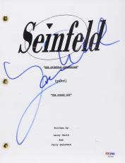 Larry David Autographed Seinfeld Replica Script - PSA/DNA