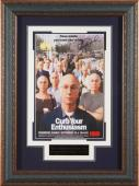 Larry David - Curb Your Enthusiasm Signed 11x17 Framed Poste