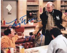 Larry David Jason Alexander Signed 8x10 Photo Seinfeld Authentic Autograph Coa B