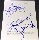 "Jerry Seinfeld Larry David & Jason Alexander Signed ""the Pick"" Show Script"