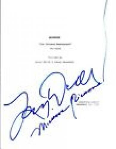 Larry David & Michael Richards Signed SEINFELD The Chinese Restaurant Script VD
