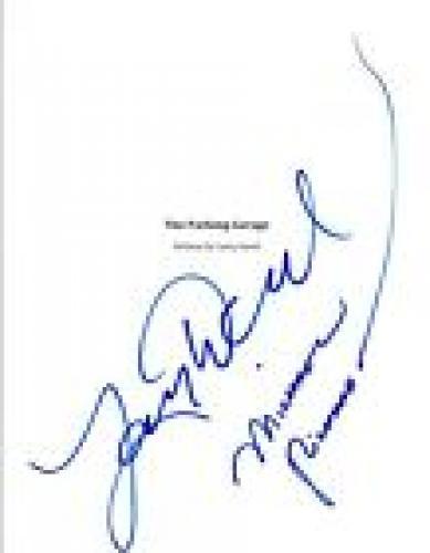 Larry David & Michael Richards Signed SEINFELD The Parking Garage Script COA VD