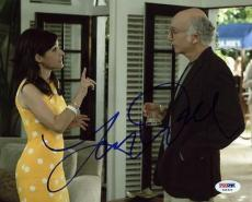 Larry David Seinfeld Signed 8X10 Photo Autographed PSA/DNA #X44421
