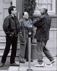 Larry David Seinfeld Signed 8X10 Photo Autographed PSA/DNA #Z56234