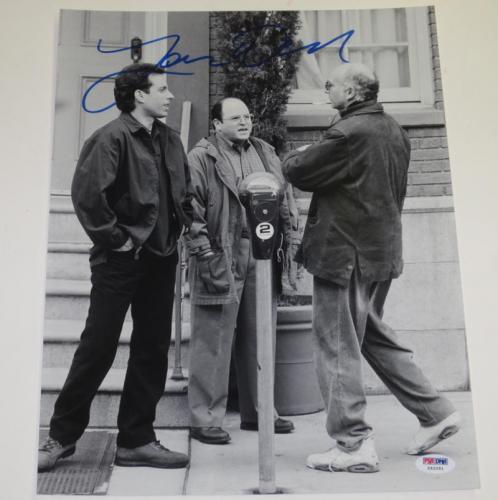 Larry David Signed 11x14 Photo Curb Your Enthusiasm Seinfeld Autograph Psa Coa B