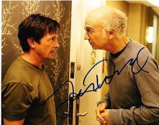 Larry David Signed 8x10 Photo Curb Your Enthusiasm Seinfeld Autograph Coa E