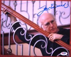 Larry David signed 8x10 photo Seinfeld Curb Your Enthusiasm PSA/DNA autograph