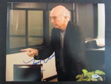 Larry David Signed Auto Autograph 11x14 Photo PSA/DNA AC90343