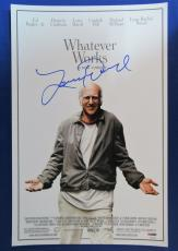 Larry David Signed Auto Autograph 11x17 Whatever Works Photo PSA/DNA Z97919