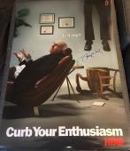 "Larry David Signed Autograph ""curb Your Enthusiasm"" Full Size Show Promo Poster"