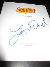 "Larry David Signed Autograph ""seinfeld"" Television Script In Person Coa Auto D"