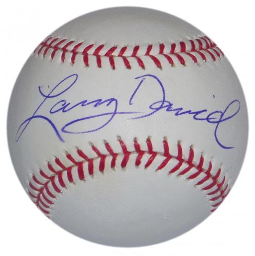 Larry David Signed Ball Seinfeld Snl Bernie Sanders Parody Curb Your Enthusiasm