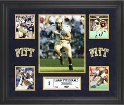 Larry Fitzgerald Pittsburgh Panthers Framed 5-Photo Collage