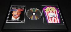 Larry Flynt Milos Forman & Woody Harrelson Signed Framed DVD & Photo Display