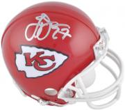 Larry Johnson Kansas City Chiefs Autographed Riddell Mini Helmet