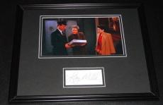 Autographed Larry Miller Photo - Framed 11x14 Display JSA Seinfeld Doorman