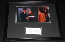 Autographed Larry Miller Photo - Framed 11x14 Display JSA Seinfeld Doorman