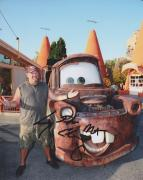 Larry the Cable Guy Signed - Autographed CARS 8x10 inch Photo - Guaranteed to pass BAS with MATER Inscription