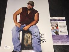 Larry The Cable Guy Autographed Signed 8x10 Picture JSA COA 2