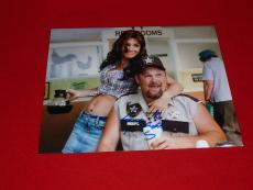 LARRY THE CABLE GUY cars comedian signed 8x10 COA 7