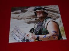 LARRY THE CABLE GUY cars comedian signed 8x10 COA 8