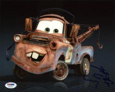 Larry The Cable Guy Cars (Mater) Signed 8X10 Photo PSA/DNA #Y42195