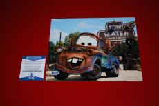LARRY THE CABLE GUY cars tow mater git r done signed 8x10 beckett BAS 2