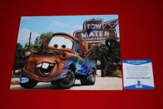 LARRY THE CABLE GUY cars tow mater git r done signed 8x10 beckett BAS 3