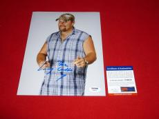 LARRY THE CABLE GUY cars tow mater git r done signed PSA/DNA 8x10 1
