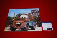LARRY THE CABLE GUY cars tow mater git r done signed PSA/DNA 8x10 6
