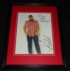 Larry the Cable Guy Facsimile Signed Framed 8x10 Photo