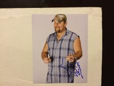 Larry The Cable Guy Hand Signed 8x10 Photo Autographed c